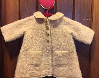 FUZZY WUZZY // Baby Girl Coat w/ Pockets