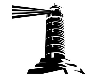 Lighthouse, Lighthouses, SVG,Graphics,Illustration,Vector,Logo,Digital,Clipart