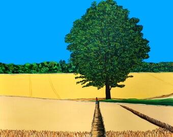 Harvest Time Seaforde (Print)