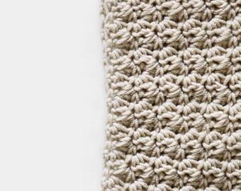 CROCHET PATTERN • Womens Scarf Crochet Pattern • Easy Crochet Pattern