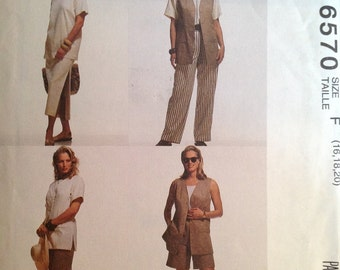 McCall's 6570 Sewing Pattern (Vintage) UNCUT