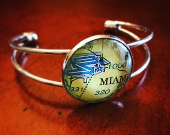 Custom Aviation Cuff Bracelet