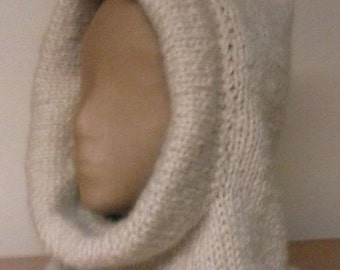 Letendre Farmers knit Hood/Hat knitting pattern