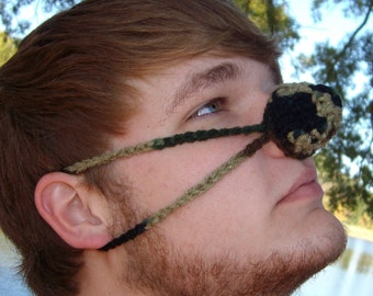 Camo Nose Warmer, Hunter, Outdoor Lover, Man, Woman, Teen, Vegan Friendly, Hunting, Outdoor Winter Sports, Cold Weather, Nose Cozy, Unisex