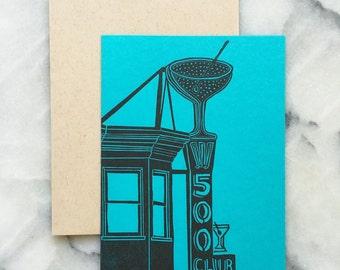 500 Club, Neon Edition, Single Card