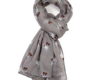 Beautiful Jack Russell Scarf