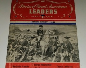 Stories of Great American Leaders - 1st printing