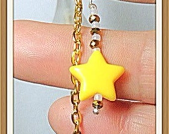 Star light delight long dangle earrings