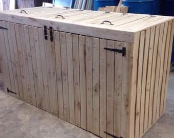 Wheely bin storage