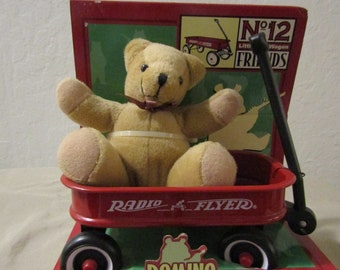 Vintage Little Red Wagon Friend No 12 with Domino Plush Toy (159)