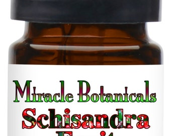 Miracle Botanicals Schisandra Fruit Essential Oil - 100% Pure Schisandra Sphenanthera - Therapeutic Grade....Free US Shipping