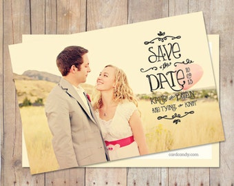 Simple SaveTheDate Card Save The Date Postcard Save The - Save the date magnet templates