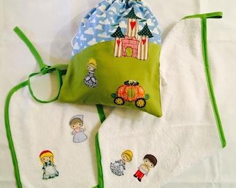 """Set of Kindergarten series Fables """"Cinderella"""""""