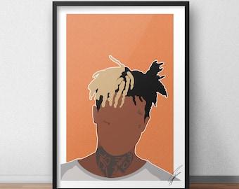 XXXTENTACION INSPIRED Print / Poster