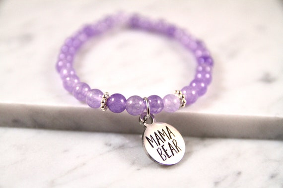 Mama Bear | Momma Bear | Mommy Bracelet | New Mom Bracelet | Mama Bear Bracelet | Momma Bear Gift | Mom from Son | Mom From Husband