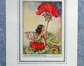 Geranium Flower Fairy Vin...
