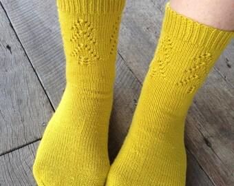 Knitting Pattern; Spruce Socks