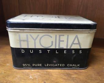Hygieia Dustless Chalk Tin
