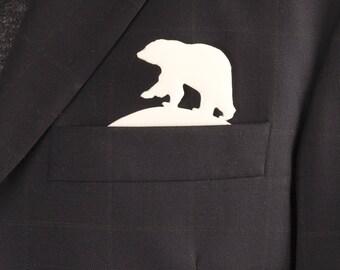 Pocket Art bear for men