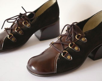 Vintage 1960s Mod Shoes by Connie size 6.5