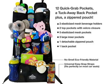 Car Backseat Organizer/ Baby shower gift
