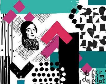 Art Gallery Fabric - simultaneous