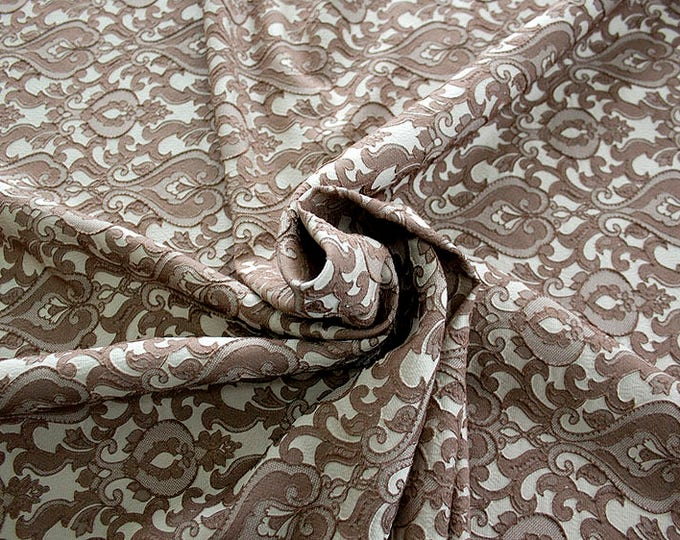 990071-022 Brocade-95% PL, 5 PA, 130 cm wide, manufactured in Italy, dry cleaning, weight 205 gr, price 1 meter: 52.94 Euros