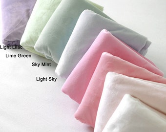 Soft Cuddle Minky Microfiber Fabric By The Yard