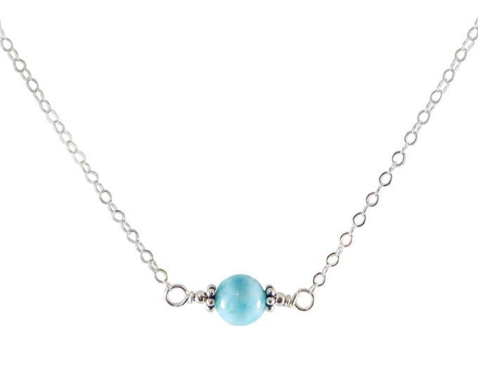 L'amour Necklace - Larimar