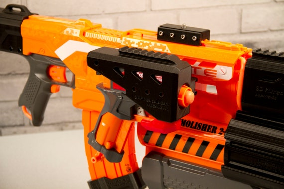2 of 8 3D Printed – Spare Bomb/Missile Holder for Nerf Demolisher Dart Gun  Blaster