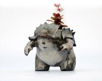Samurai Creature Pot (Planter)