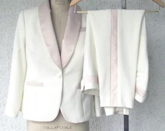 Lesbian Wedding Tuxedo---Custom Made in Your Size