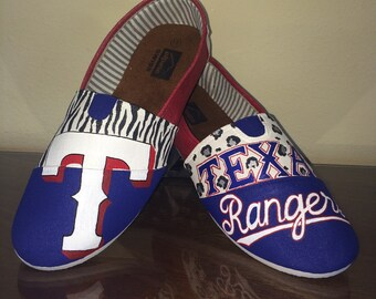 Texas Rangers women's shoes