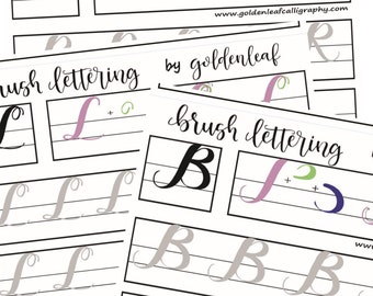 Mouse lettering guide - Uppercase