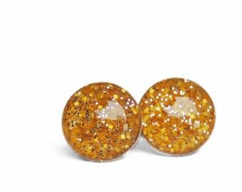 POP Earrings / Sundial / Color POP / Handmade Jewelry / Resin Jewelry