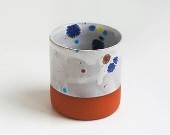 Speckle glaze mug