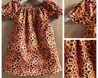 Pretzel Lounge Wear Gown, Cotton, size 2t