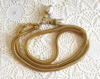 vintage gold snake belt coil belt pearl belt disco belt gold metal belt