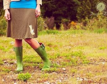 Hemp Bird Skirt
