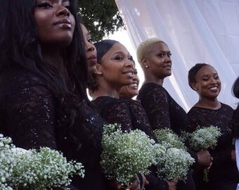 Custom Made Brides Maid Dresses