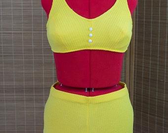 1960's Yellow Bikini
