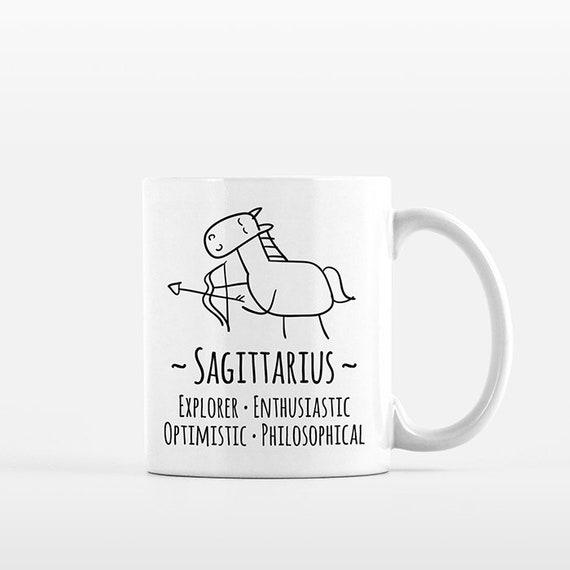 Sagittarius Mug Sagittarius Gift for Him Her Sagittarius Zodiac Gift Zodiac Mug Zodiac Sign Gift Horoscope Gift Astrology Gift Coffee Mug