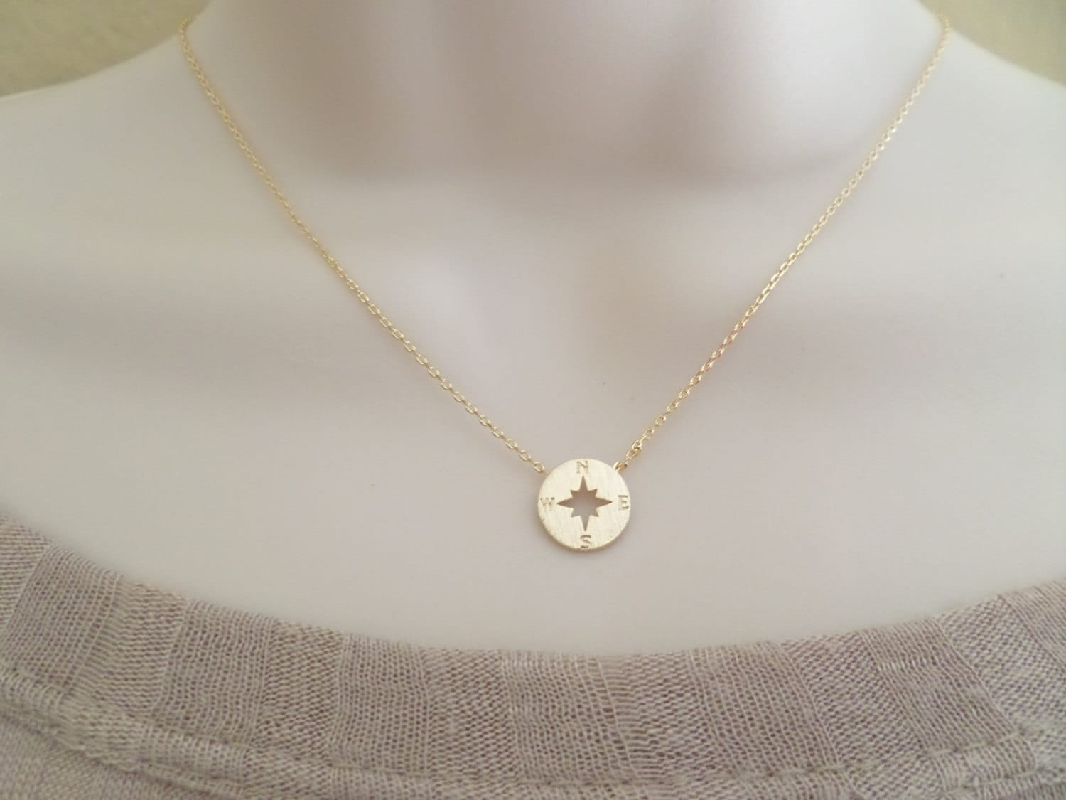 charmed com lily original lilycharmed notonthehighstreet necklace compass by silver product