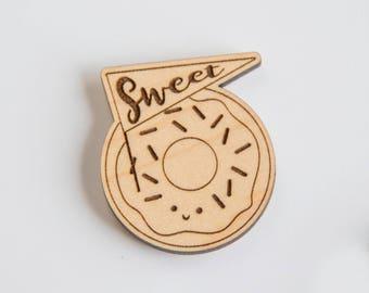 Sweet Donut Needle Minder