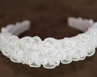Organza Floral Design Headband