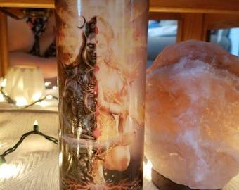 Balance duality light dark vase candle holder luminaries lights