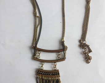 French Vintage Chain Necklace