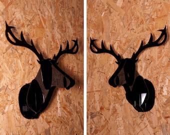 Methacrylate deer head