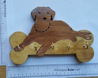 Labrador Dog Key holder