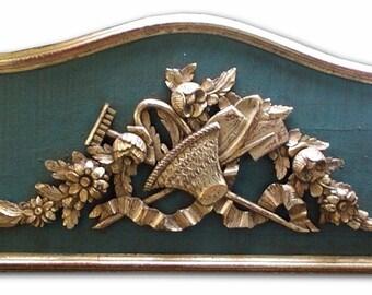 Pediment top door trim louis XVII
